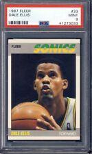 1987 Fleer Basketball #33 Dale Ellis PSA 9 *2