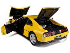 1989 FERRARI 348 TB YELLOW ELITE EDITION 1/18 DIECAST MODEL CAR HOTWHEELS V7437