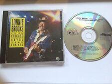 Lonnie Brooks Live From Chicago Bayou Lightning Strikes Alligator AL4759 1988 CD