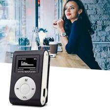 1x Mini-USB-Clip MP3-Player LCD-Bildschirm Unterstützt 32 Micro GB TF-Karte L0N1