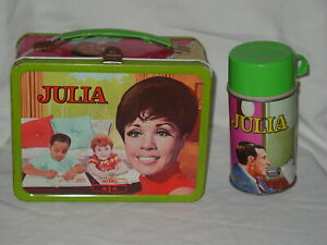 Julia 1968 Metal Lunchbox W/ Thermos EXCELLENT CONDITION