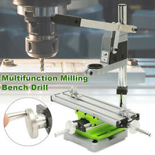 Multifunction Milling Machine Compound Sliding Work Table w/ Power Drill Holder