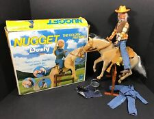 Vintage Kenner Nugget Horse Dusty Doll Accessories Playset 1975