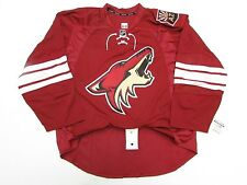 aae578cbc ARIZONA COYOTES AUTHENTIC HOME TEAM ISSUED REEBOK EDGE 2.0 7287 JERSEY SIZE  58+