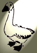 Shabby Chic in plastica Stencil Artistico oche oca RUSTICO A4 297x210mm Muro Desa