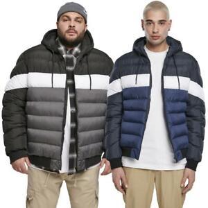 Urban Classics Colorblock Bubble Jacket Winter Puffer Jacke Steppjacke Anorak