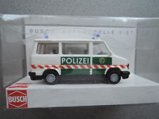 Busch 43247 Fiat Ducato Polizei Frankfurt aus Sammlung in OVP (9)