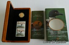 2004 Canada The Elusive Loon Coin + Stamp Set - Special $1 Looni e#coinsofcanada