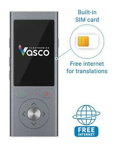 Vasco Mini 2 Voice Translator Device with Built-in SIM Card with Free Internet