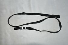 VINTAGE BLACK SHOULDER NECK STRAP  FOR SLR CAMERA USED *106**