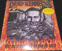 DEAD KENNEDYS! GIVE ME CONVENIENCE OR GIVE ME DEATH! W/ BOOK! SEALED VINYL LP!
