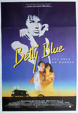 BETTY BLUE - 37,2 Grad am Morgen, Filmplakat, Poster, mit Béatrice Dalle, 1986