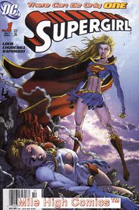 SUPERGIRL  (2005 Series)  (DC) #1 NEWSSTAND Near Mint Comics Book