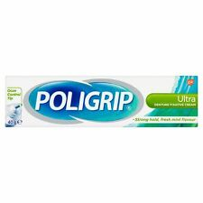 POLIGRIP ULTRA DENTURE FIXATIVE CREAM - 40G