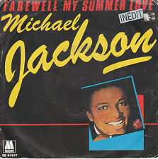"7"" 45 TOURS FRANCE MICHAEL JACKSON ""Farewell My Summer Love / Call On Me"" 1984"