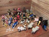 Vintage LOT 1990's Bandai Power Rangers Action Figures Toys