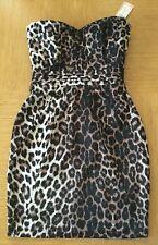 Lipsy Animal Print Sleeveless Mini Dresses for Women