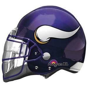 "21"" NFL Minnesota Vikings Football Helmet Foil Mylar Balloon"