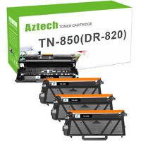 Compatbile for Brother TN850 Toner DR820 Drum L6200DW L5900DW MFC-L5800DW L5850