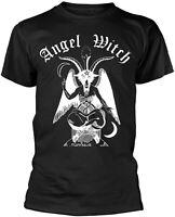 ANGEL WITCH Baphomet BLACK T-SHIRT OFFICIAL MERCHANDISE