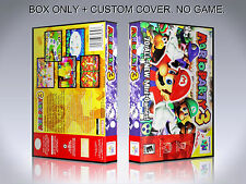 MARIO PARTY 3. Box/Case. Nintendo 64. BOX + COVER. (NO GAME).
