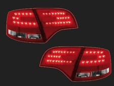 FEUX ARRIERE LED AUDI A4 AVANT B7 3.2 FSI RS4 1.9 TDI ROUGE CRISTAL LOOK A6 RS6