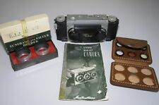 Vintage Realist Stereo 3D 35mm Camera David White Milwaukee w/ accessories