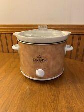 Rival 2 Qt Quart Small Crock Pot Slow Cooker Model SCR200