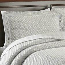 Lamont Home Woven Jacquard Standard Pillow Sham (1)ONLY! Grey/White Cotton/Nylon