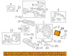GM OEM-Hvac Heater Core 22961456