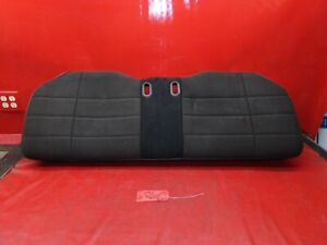 90-93 FORD MUSTANG LX HATCHBACK HATCH BACK REAR SEAT LOWER CUSHION BLACK CLOTH