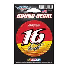 "Greg Biffle Round Vinyl Decal 3"" x 3"" NASCAR"