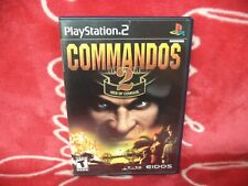 Commandos 2 Men Of Courage Ps2  TESTED Complete