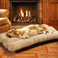 Große Hundebett Hundekissen Hundematratze Hund Katze Korb Fleece Bett Hundesofa