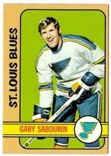 1972-73 Topps GARY SABOURIN (ex) St. Louis Blues