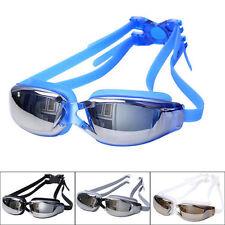 Adult Profession Waterproof Anti-Fog UV Protect Swim Glasses Swimming Goggles AU