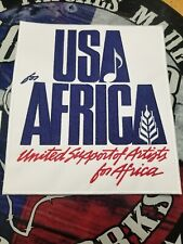 USA for AFRICA small patch