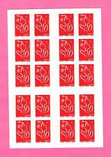 FRANCE CARNET LAMOUCHE 20 timbres 3744b-C3**MNH - Boutique du WEB - COTE 35 €