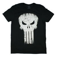Marvel Comics Men's Punisher Skull Logo T-Shirt