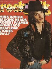 REVUE : Rock & Folk # 182 talking heads mink deville meat loaf robert palmer