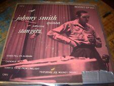 "JOHNNY SMITH / STAN GETZ quintet  ( jazz ) 7""/45 picture sleeve EP"