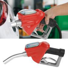 Gasoline Diesel Petrol Oil Delivery Gun Nozzle Dispenser+Digital Flow Meter New