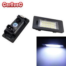 2X LED License Plate Light Lamp White Error Free For BMW E60 E61 E90 M3 M5 X5 X6