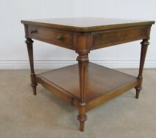 VINTAGE BERKEY WIDDICOMB END TABLE WITH CONCEALED TRAY TABLE, VERY RARE MODEL