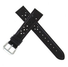 Hadley Roma MS844 18mm Brown Perforated Sports Watch Band