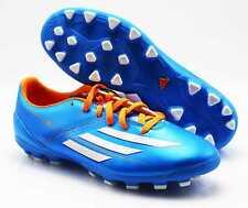 Botas de futbol ADIDAS f10 TRX AG d67145 azul (2), talla 39 1/3