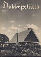 Finland Wartime Magazine Hakkapeliitta 1943 #40 -