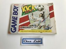 Notice - Super Kick Off - Nintendo Game Boy - PAL FAH
