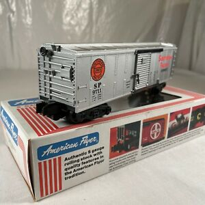 American Flyer # 4-9711 S Scale Southern Pacific Rolling Stock Boxcar OB