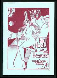 HIGH HEELS IN THE HEAVENS Gene Bilbrew Sci-Fi 'Zine Reprint Vasta Editions 2019